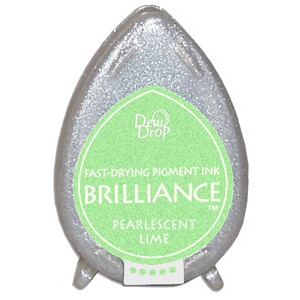 Brilliance ink - Pearlescent Lime